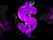 3D Dollar Royalty-vrije Stock Afbeelding