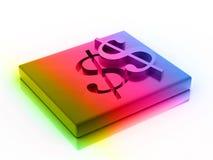 3D Dollar Stock Afbeelding