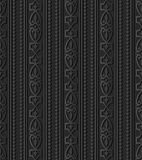 3D donkere document het Kaderlijn van kunstdiamond check curve cross crest vector illustratie