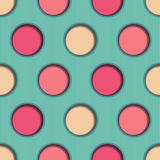 3d Dots Seamless Background Immagine Stock Libera da Diritti