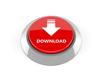 3d download button Royalty Free Stock Photos