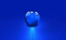 Binary globe Stock Photos