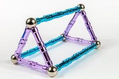 3D Driehoekig Prisma royalty-vrije stock foto