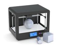 3D druk ilustracja wektor