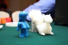 3D drukarka - druku model Obraz Stock