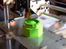 3D drukarka - FDM druk Obraz Royalty Free
