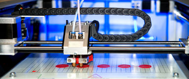 3D drukarka & x28; FDM& x29; Obraz Stock