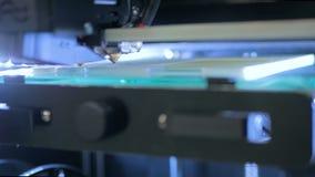 3D drukarka podczas pracy zdjęcie wideo