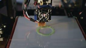 3D drukarka pracuje 4K zbiory wideo