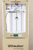 3d drukarka przy technologii centrum w Mediolan, Włochy Obraz Royalty Free