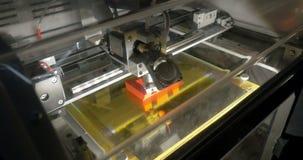 3D drukarka robi listowi E zbiory wideo