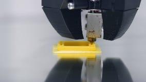 3D drukarki działanie Timelapse zbiory
