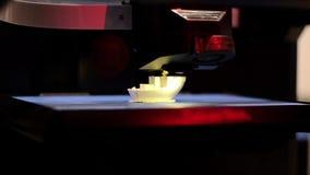3D drukarki działanie zdjęcie wideo