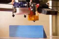 3D drukarki niski kąt Fotografia Stock