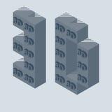 3D drukarki wektoru ikona Obrazy Stock