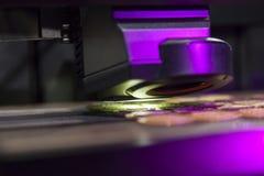 3d drukarki zbliżenie Obraz Royalty Free