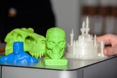 3D drukcijfers Royalty-vrije Stock Afbeelding