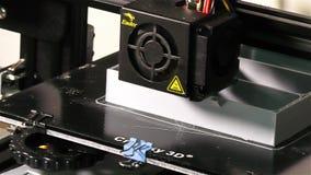 3D druku szczegół - Srebny 3D druku kawałek zbiory