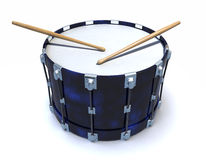 3d Drum roll on snare Royalty Free Stock Photos