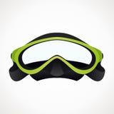 3D duikermasker Stock Illustratie