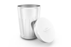 3d dustbin concept Royalty Free Stock Photo