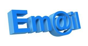 3d e-mail royalty-vrije illustratie