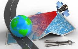 3d earth Στοκ Εικόνες