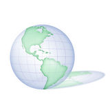 3D Earth. Royalty Free Stock Image