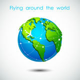 3d Earth planet Royalty Free Stock Photo