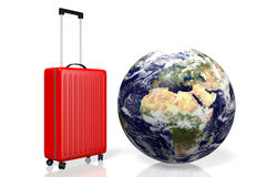 3D Earth, travel concept Royalty Free Stock Photography
