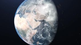 3D Earth warming concept animation 4K