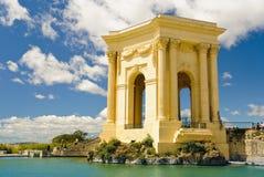 d'Eau de château à Montpellier Photos libres de droits