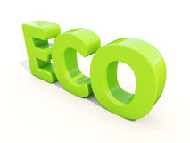 3d Eco Image stock