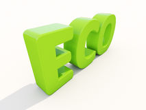 3d Eco Royalty Free Stock Image