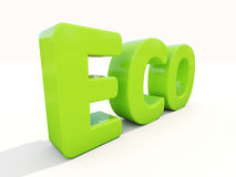 3d Eco Royalty Free Stock Photo