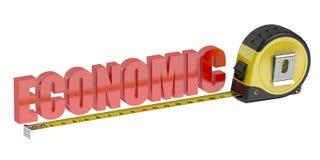 3D economisch concept stock illustratie