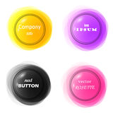 3D effect color frame 2 Royalty Free Stock Photo