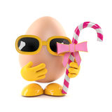3d Egg candy treat Stock Photo