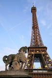 d'Eiffel del viaje fotografía de archivo libre de regalías