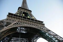 d'Eiffel del viaje imagen de archivo libre de regalías