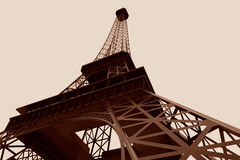 3d Eiffel tower Royalty Free Stock Photography