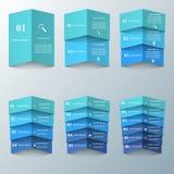3D ejemplo digital abstracto Infographic Fotos de archivo libres de regalías