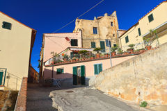 D'Elba Capoliveri - Isola lizenzfreie stockfotografie