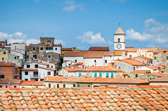 D'Elba de Isola (Itália), Capoliveri Fotos de Stock