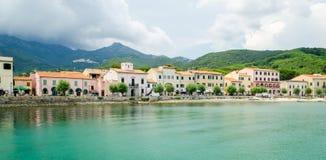 D'Elba de Isola, Marciana Marina Foto de archivo libre de regalías