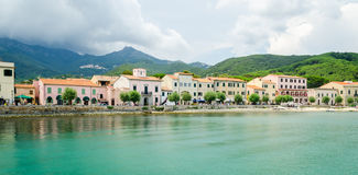 D'Elba de Isola, Marciana Marina Foto de Stock Royalty Free