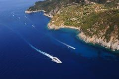 D'Elba-Patresi van Isola kustlijn Royalty-vrije Stock Foto's