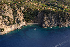 D'Elba-Patresi van Isola strand Stock Fotografie