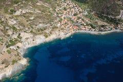 D'Elba-Pomonte van Isola strand Stock Fotografie