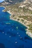 D'Elba-Pomonte van Isola strand Royalty-vrije Stock Foto's